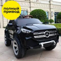 Электромобиль Kidsauto Mercedes-Benz X-class concept style 4Х4 black Черный лак (ABM-3388 Black) (6903351833881)