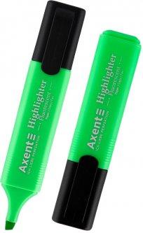 Набор текстовых маркеров Delta by Axent Highlighte Зеленый 1-5 мм 12 шт (2531-04-A)