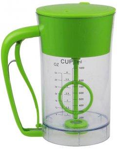 Дозатор для жидкого теста Supretto 1 л Салатовий (5617-0001)