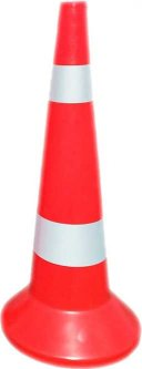 Конус дорожный Укрхимпласт КС-800 со светоотражающей пленкой (00000014002)