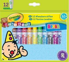 12 легко смываемых широких фломастеров Crayola (8325) (5010065083257)