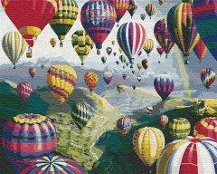 Картина по номерам Идейка Воздушные шары 40 x 50 см (КНО1056) (4823104305088)