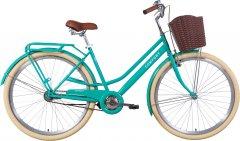 "Велосипед Dorozhnik COMFORT FEMALE Velosteel 28"" 19.5"" 2021 Бирюзовый (OPS-D-28-195)"
