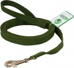Поводок Lucky Pet брезентовый шитый зеленый (4820224214542)