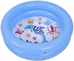 Бассейн детский надувной Jilong 57157 голубой 76 x 20 см (JL57157_blue)