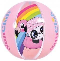Мяч надувной Jilong 53014 розовый 40 см (JL53014_pink)