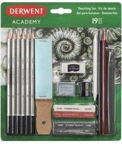 Набор для рисования Derwent Academy Sketching set 19 предметов (2300365)