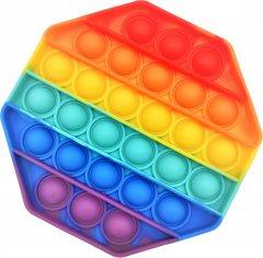 Игрушка-антистресс Pop-it QL042977 восьмиугольник радуга (QL042977_octagon) (2218062021188)