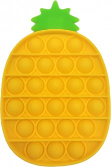Игрушка-антистресс Pop-it QL040064 ананас желтый (QL040064_pineapple) (2218062021193)