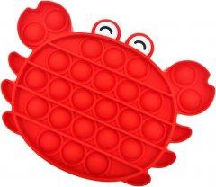 Игрушка-антистресс Pop-it QL040067 краб красный (QL040067_crab) (2218062021194)