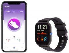 Смарт-часы Atrix Watch X50 Pulse Oximeter and Tonometer Black Aluminum (swatxx50ba)