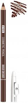 Контурный карандаш для глаз BelorDesign Party тон 02 коричневый с точилкой 1.2 г (4810156049022)