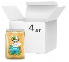 Упаковка крупы кукурузной Такі справи шлифованные 800 г х 4 шт (3983323711)