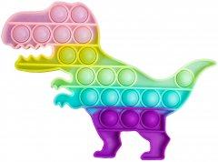 Игрушка антистресс Sibelly Pop It Dino Glow in Dark (SB-PPIT-DN-GD) (9869205468630)
