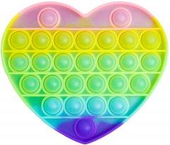 Игрушка антистресс Sibelly Pop It Heart Glow in Dark (SB-PPIT-HRT-GD) (9869205468647)