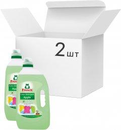 Упаковка геля для стирки цветной ткани Frosch 5 л х 2 шт (4001499016134/4009175556165)