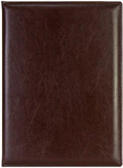 Папка специальная Optima на подпись А4 Nebraska Темно-коричневая (O36030-43)