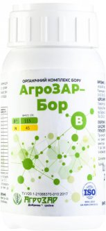 Органический комплекс АгроЗАР Бор, концентрат 250 мл (4820241010424)