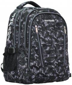 Рюкзак Safari Sity 45х30х27 см 36 л Черно-серый (21-150L-2/8591662011500)