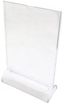 Табличка информационная KLERK 210 x 297 мм двухсторонняя Прозрачная (Я17284_K-6049)