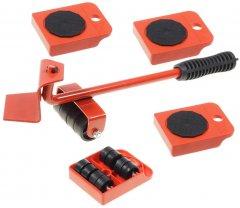 Набор для перемещения мебели Supretto 5 предметов Красный (6057-0001)