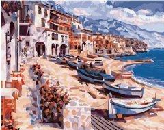 Картина по номерам Bookopt Морское побережье 50х40 см (bk_1039) (2252520906012)