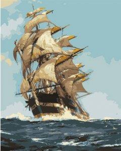 Картина по номерам Bookopt Корабль мечты 50х40 см (bk_1114) (2252520880015)