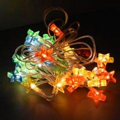 Светодиодная гирлянда Jumi Звезды мультицветные, LED 35, 1.5 м (5900410318045)