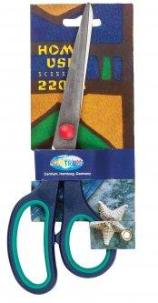 Ножницы Centrum с резиновыми вставками 22 см (802401) (2000998452155)