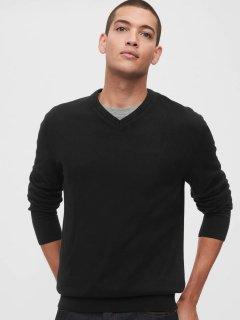 Пуловер GAP 378698431 M Черный (1159754209)