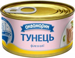 Филе тунца Аквамарин в масле 85 г (8852021008419)