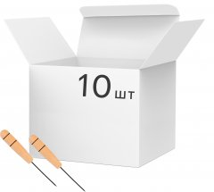 Набор канцелярских шильев Buromax 6 см 10 шт (BM.5550)
