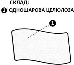 Покрытие одноразовое Киевгума Симпл 0.5 х 500 м Белое (А00320000060250)