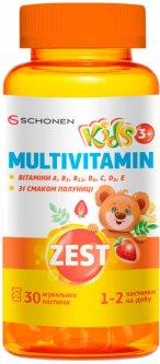 Зест ZEST Кидз Жевательные пастилки Мультивитамин 30 шт (000001223)