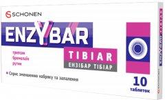 Энзибар Тибиар для снижения отеков и воспаления различного происхождения 10 таблеток (000001200)