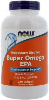 Жирные кислоты Now Foods Super Omega EPA 1200 мг 240 капсул (733739016836)