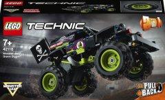 Конструктор LEGO Technic Monster Jam Grave Digger 212 деталей (42118)