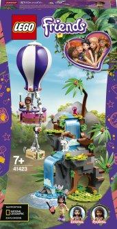 Конструктор LEGO Friends Джунгли: спасение тигра на воздушном шаре 302 детали (41423)
