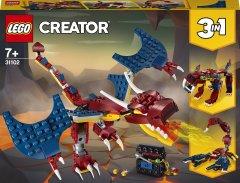 Конструктор LEGO Creator Огненный дракон 234 детали (31102)