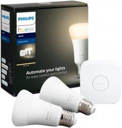 Набор Philips Hue White (Bridge, лампа E27 2шт)