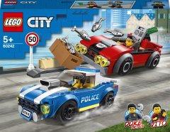 Конструктор LEGO City Police Арест на шоссе 185 деталей (60242)