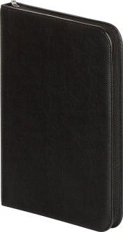 Папка Buromax из искусственной кожи на молнии Черная (BM.1622-01)