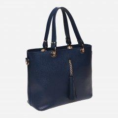 Женская сумка кожаная Palmera 10L953 Blue (ROZ6206102376)