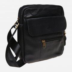 Мужская сумка кожаная Laras K10111 Black (ROZ6206102384)