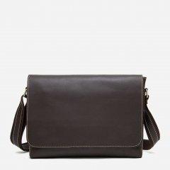 Мужская сумка кожаная Vintage 14780 Коричневая