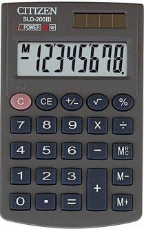 Калькулятор Citizen (SLD-200)