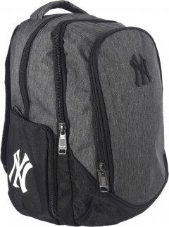 Рюкзак New York 594 г 40x25.5x21 см 21.4 л Серый (Я46337_VR24297_сірий New)
