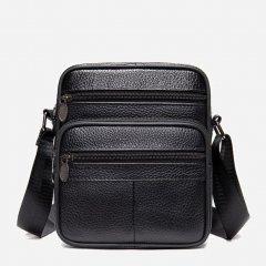 Мужская сумка кожаная Vintage 14992 Черная