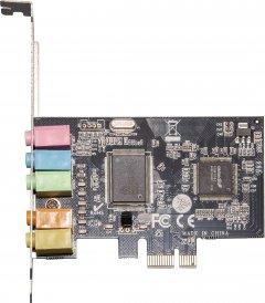 Звуковая карта Frime C-Media CMI8738+ASM1083 6 каналов PCI-E x1 (SCF-CMI8738-6CH.LP)