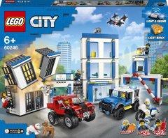 Конструктор LEGO City Police Полицейский участок 743 детали (60246)